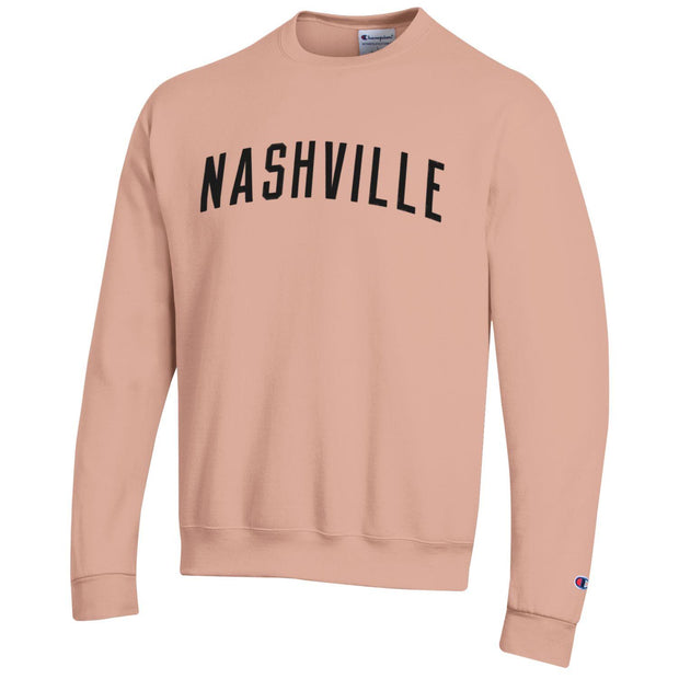 NASH x Champion Powerblend Crewneck [Peach]