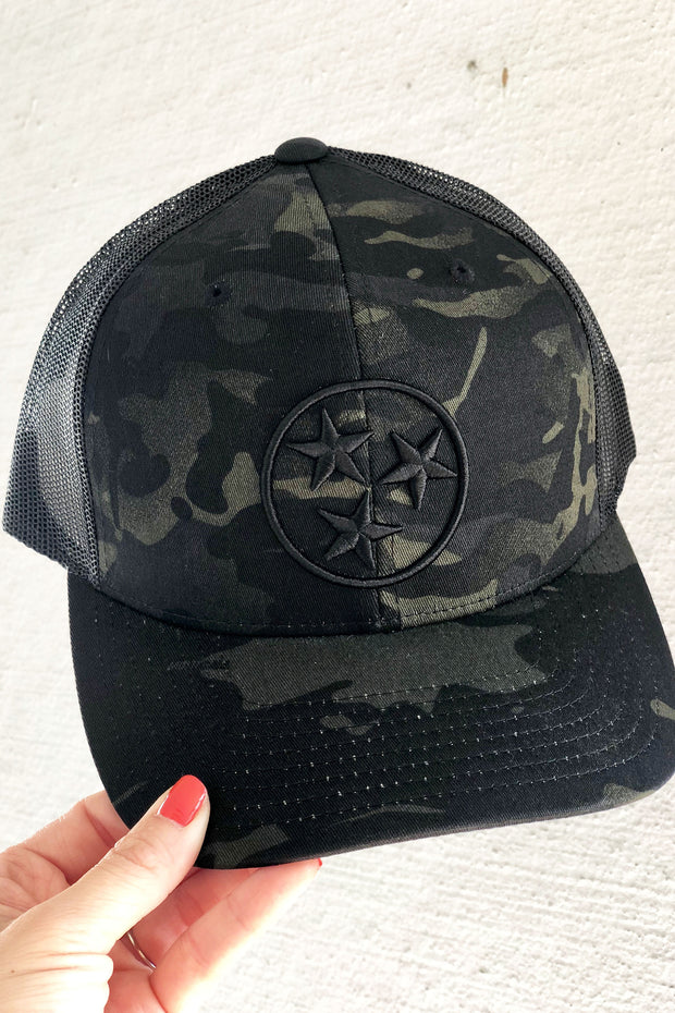 Multicam Black TriStar Trucker