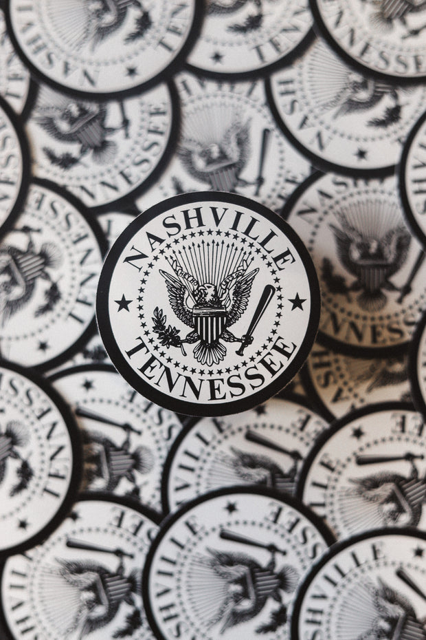 Nashville Seal Sticker