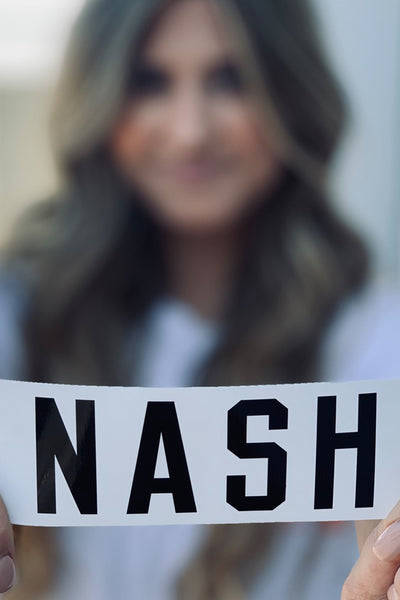 NASH Sticker