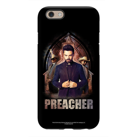 Preacher Jesse Custer in Front of Church Phone Case for iPhone and Galaxy