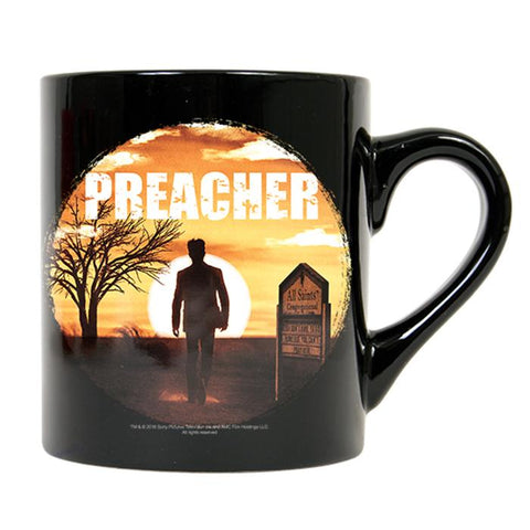 Preacher Jesse in Silhouette 11-Ounce Coffee Mug