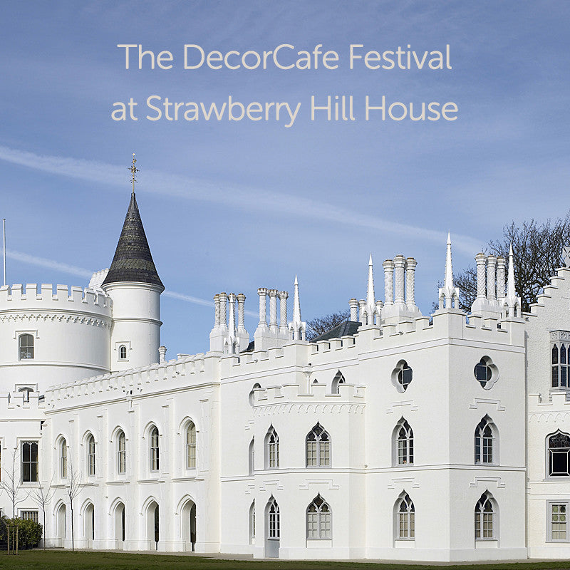 See You at the DecorCafe Festival Event at Strawberry Hill House
