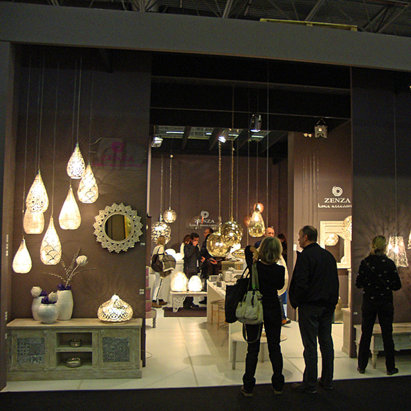 The Zenza Stand at Maison & Objet 2013
