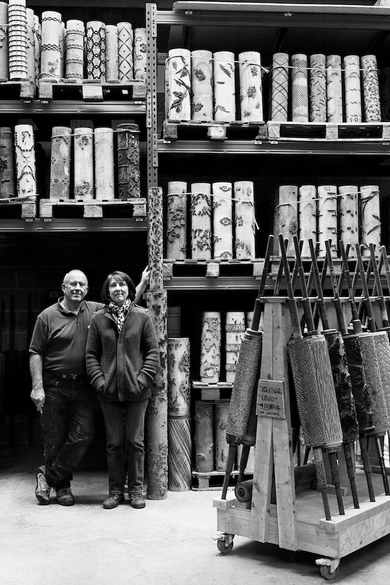 Amanda Barry & Nigel Parker, Founders of Parable Designs