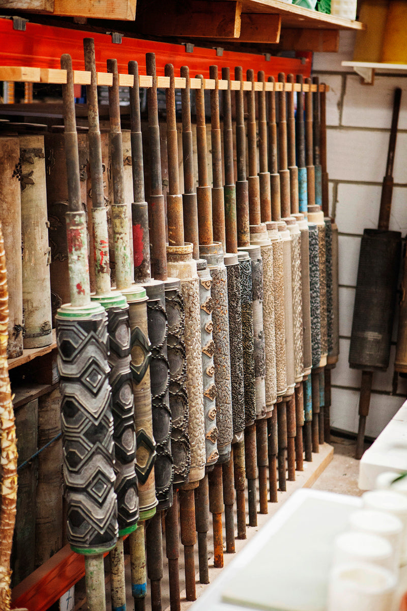 Vintage Wallpaper Rollers at Parable Designs