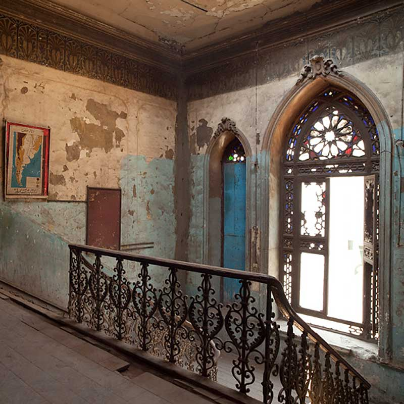 'Dust: Egypt's Forgotten Architecture', Mohamed al Qarniya Palace, Cairo