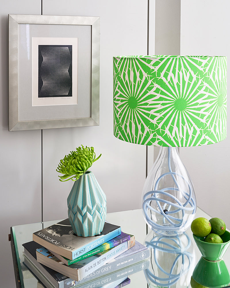 Anna Jacobs Beak Street in Grass Small Table Lamp at Pomegranate Living