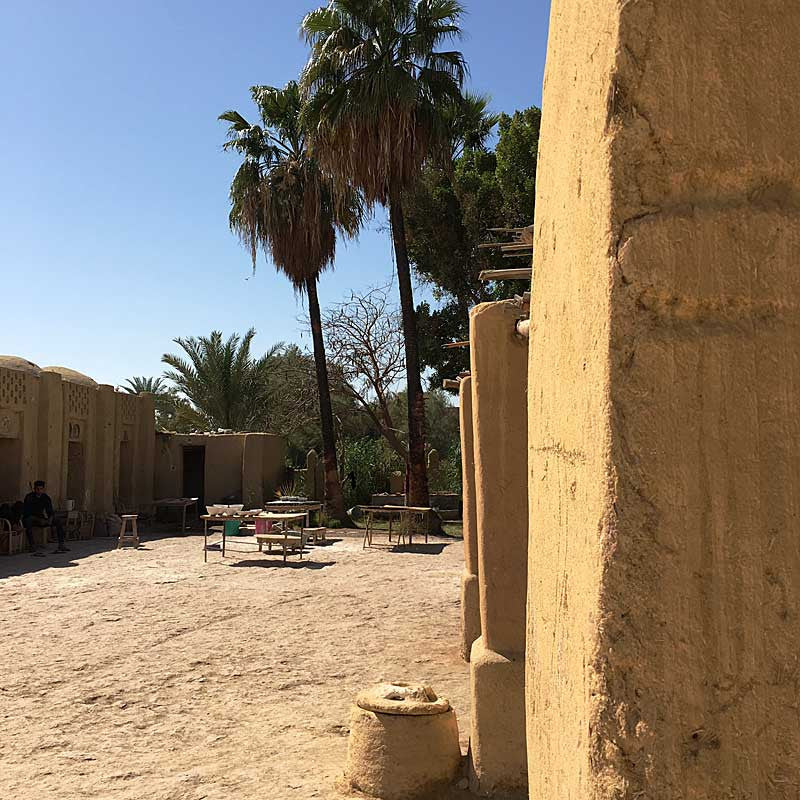 my-visit-to-the-charming-fayoum-pottery-school-pomegranate-blog-courtyard-trees