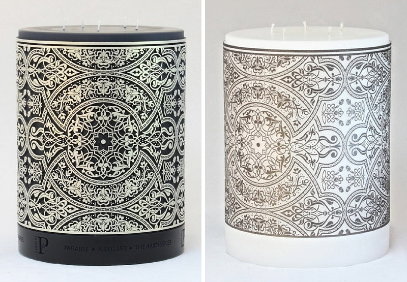 Aridi Series Arabesque Candle by Parable Designs