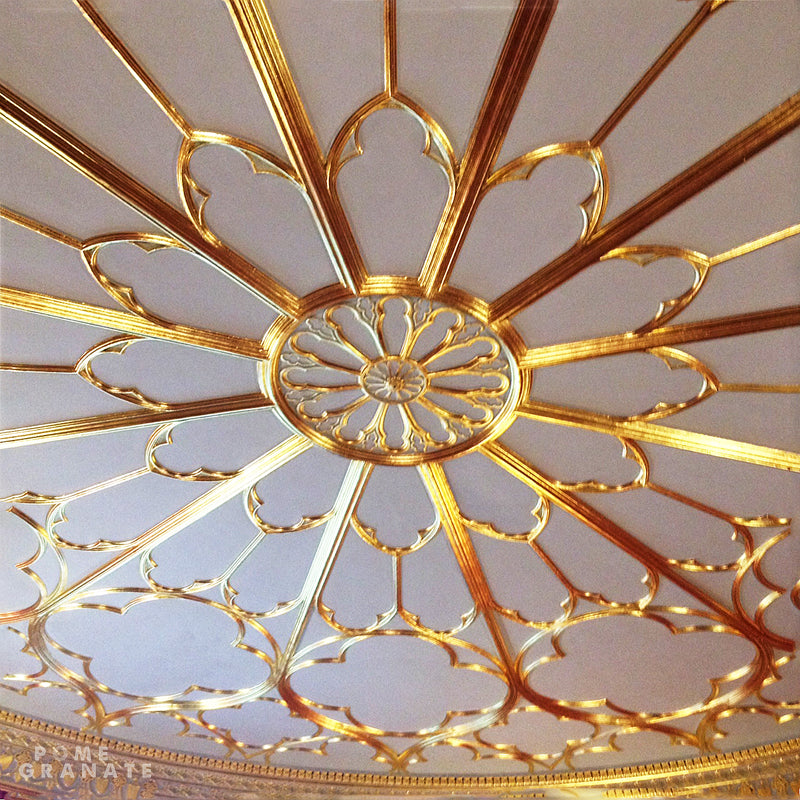 The Round Room ceiling detail