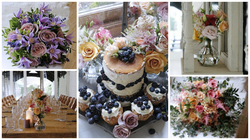 Cake and Floral Displays by The Velvet Daisy