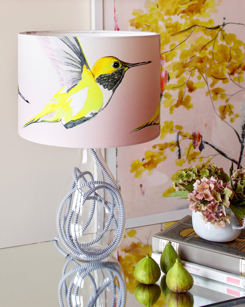 Detail of the Lemon Hummer Lamp by Anna Jacobs at Pomegranate Living
