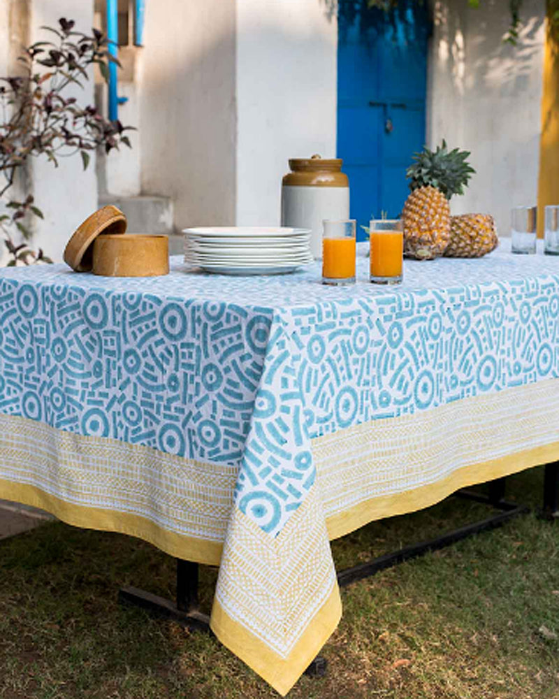 Windy Hill Popom Tablecloth