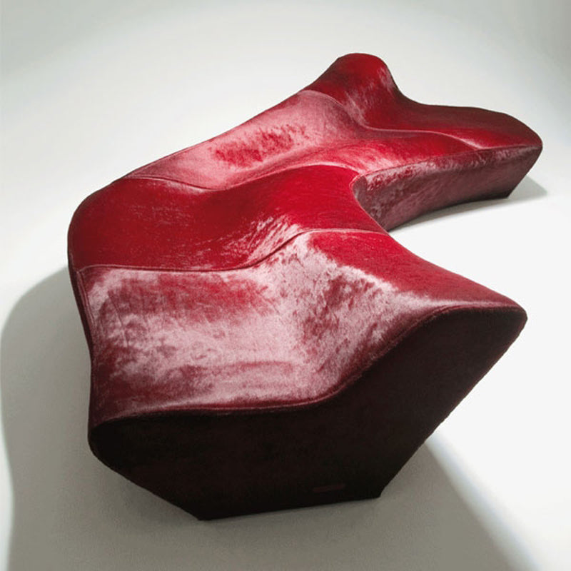 The Moraine Sofa by Zaha Hadid Featured on The Pomegranate Living