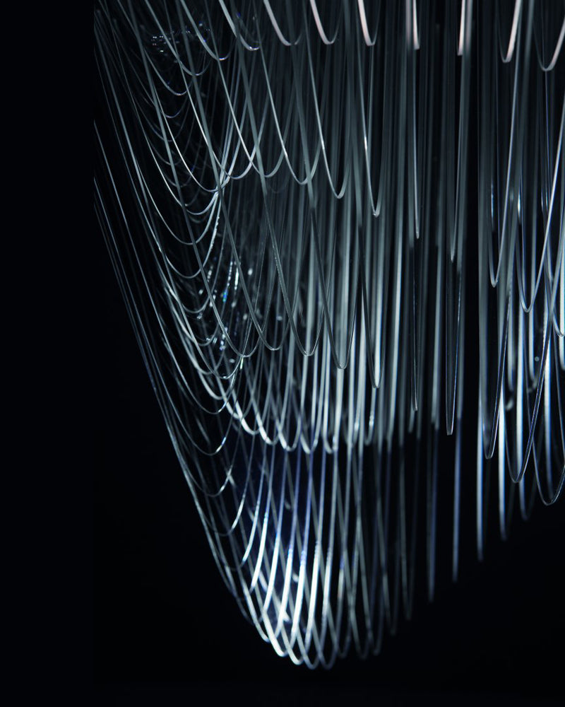 The Aria Chandelier Detail by Zaha Hadid on The Pomegranate Living Blog