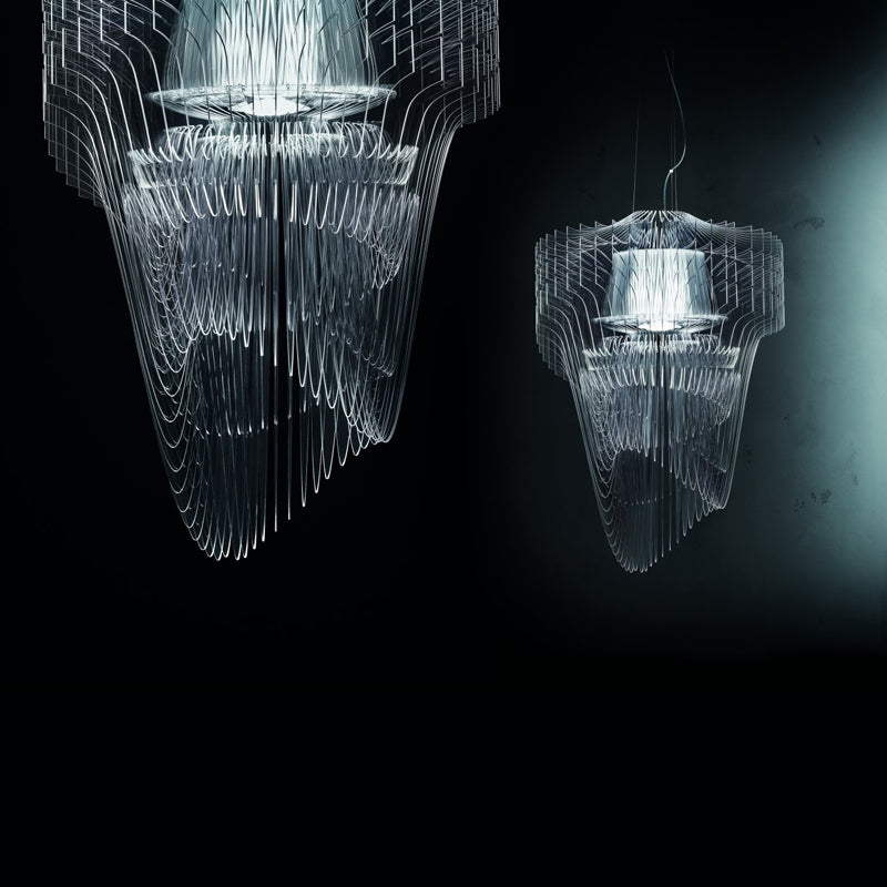 The Aria Chandelier by Zaha Hadid on The Pomegranate Blog