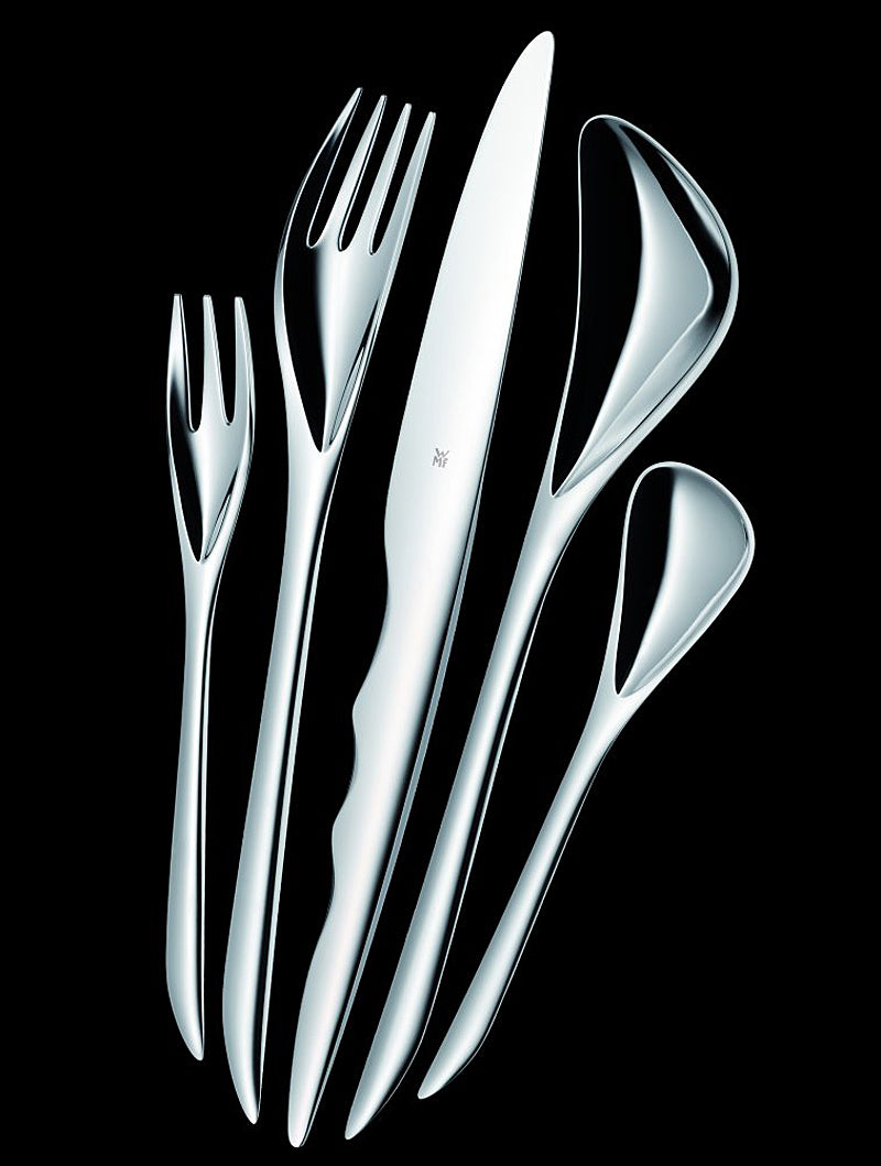 Zaha Hadid cutlery for WMF on The Pomegranate Living Blog