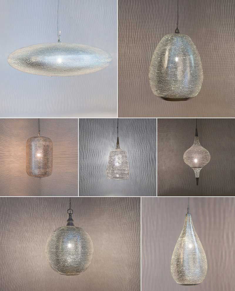 Zenza Filisky Pattern Lamps
