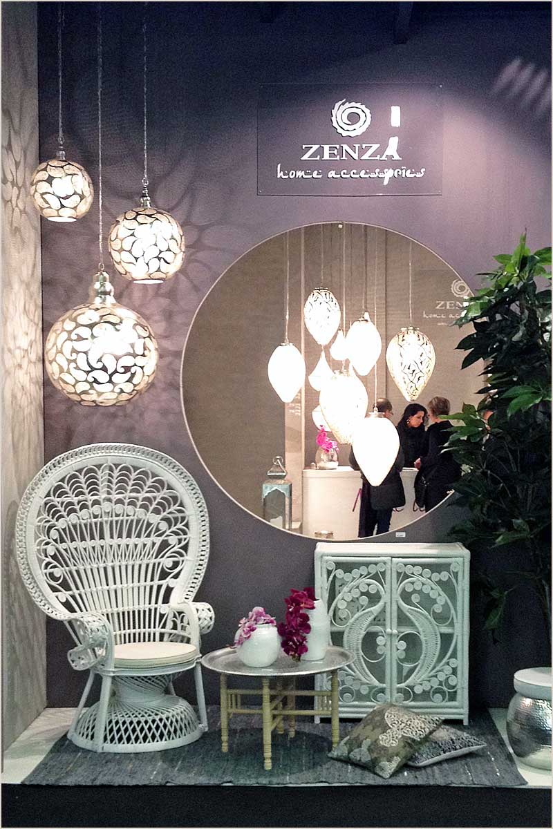 Zenza Exhibition Stand at Maison & Objet