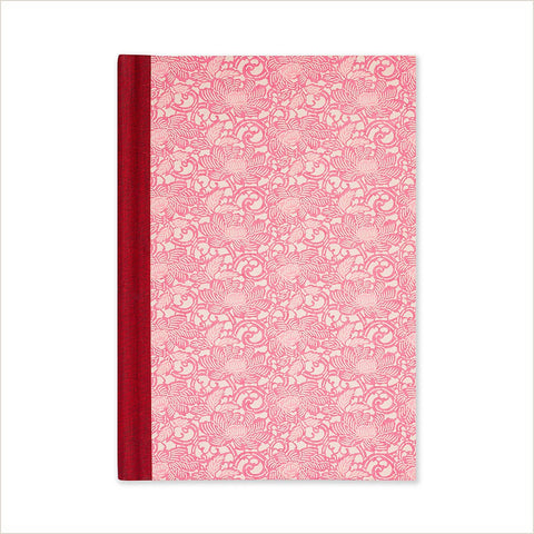 Esmie Chalky Pink Anemone Medium Lined Journal