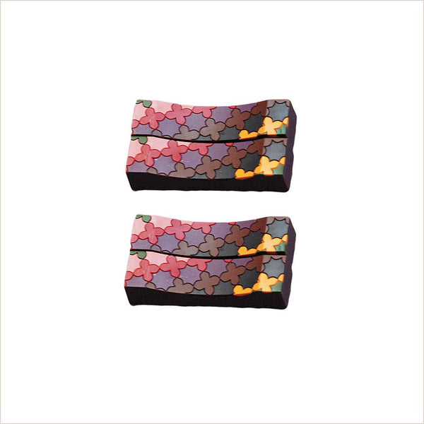 Images d'Orient Sejjadeh Prune Set of 4 Knife Rests - Pomegranate Living