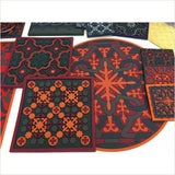Images d'Orient Vagabonde Soie Set of 2 Placemats - Pomegranate Living