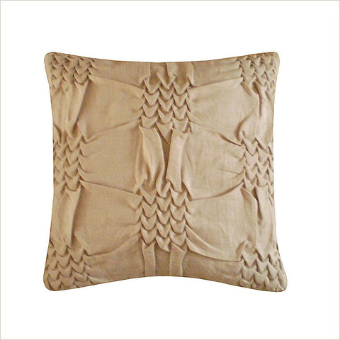 Nitin Goyal Wave Beige 40cm x 40cm Cushion