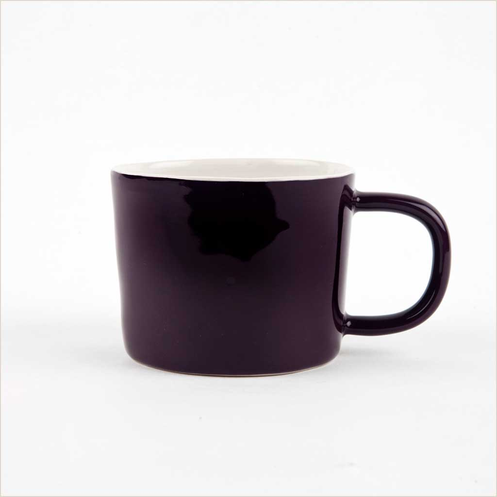 Quail's Egg Mug in Aubergine - Pomegranate Living