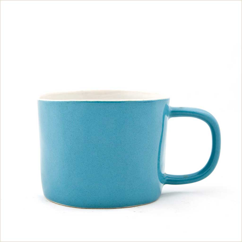 Quail's Egg Mug in Petrol Blue - Pomegranate Living