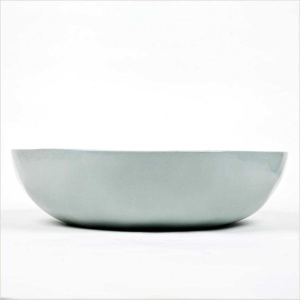 Quail's Egg Large Serving Bowl in Pale Blue - Pomegranate Living