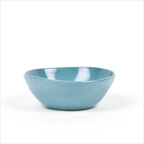 Quail's Egg Small Dipping Bowl in Petrol Blue - Pomegranate Living