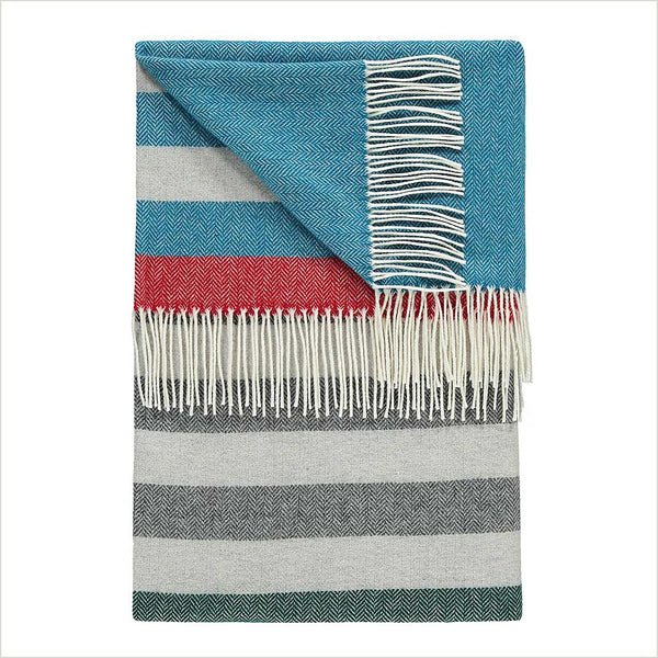 Twig Greenwich Throw - Pomegranate Living