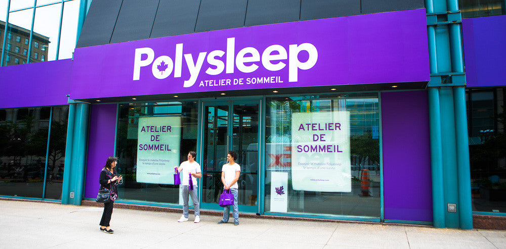 Polysleep Montréal Pop-up Store is now Open