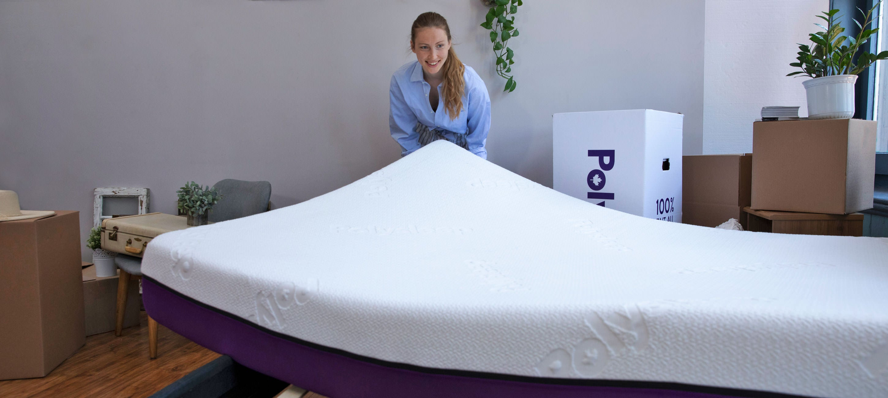 Polysleep mattress installation