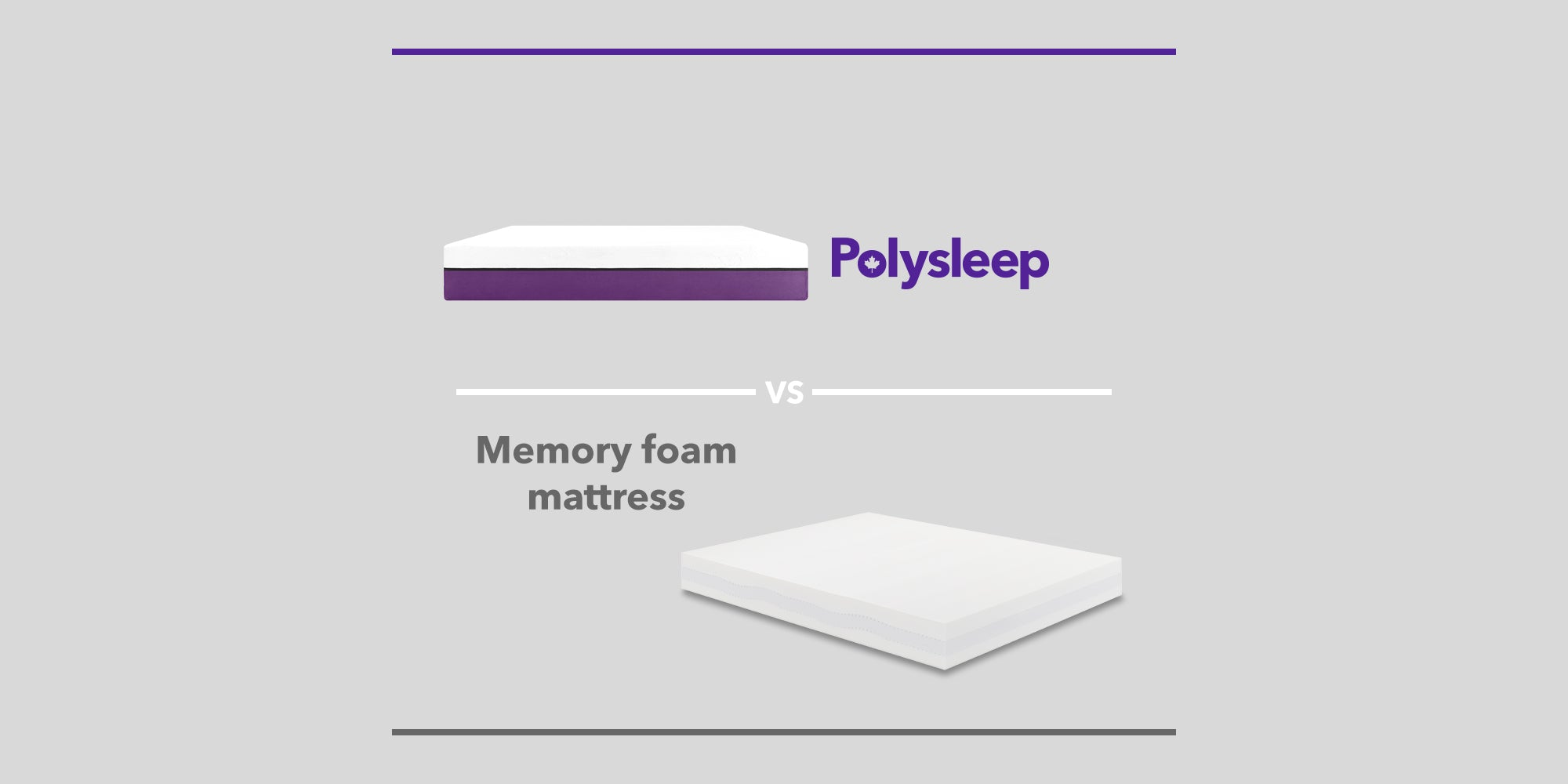 Memory Foam Mattress vs Polysleep Mattress