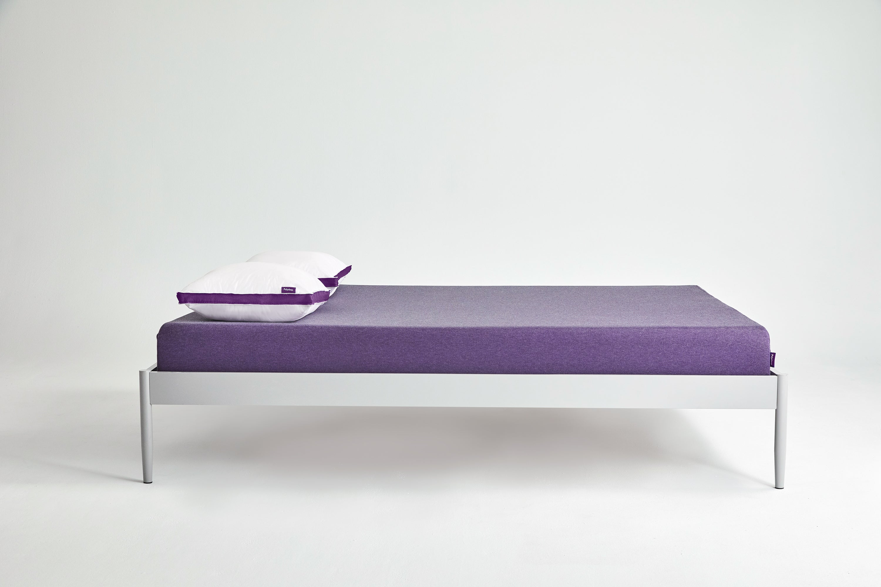 The Polysleep mattress and pillow