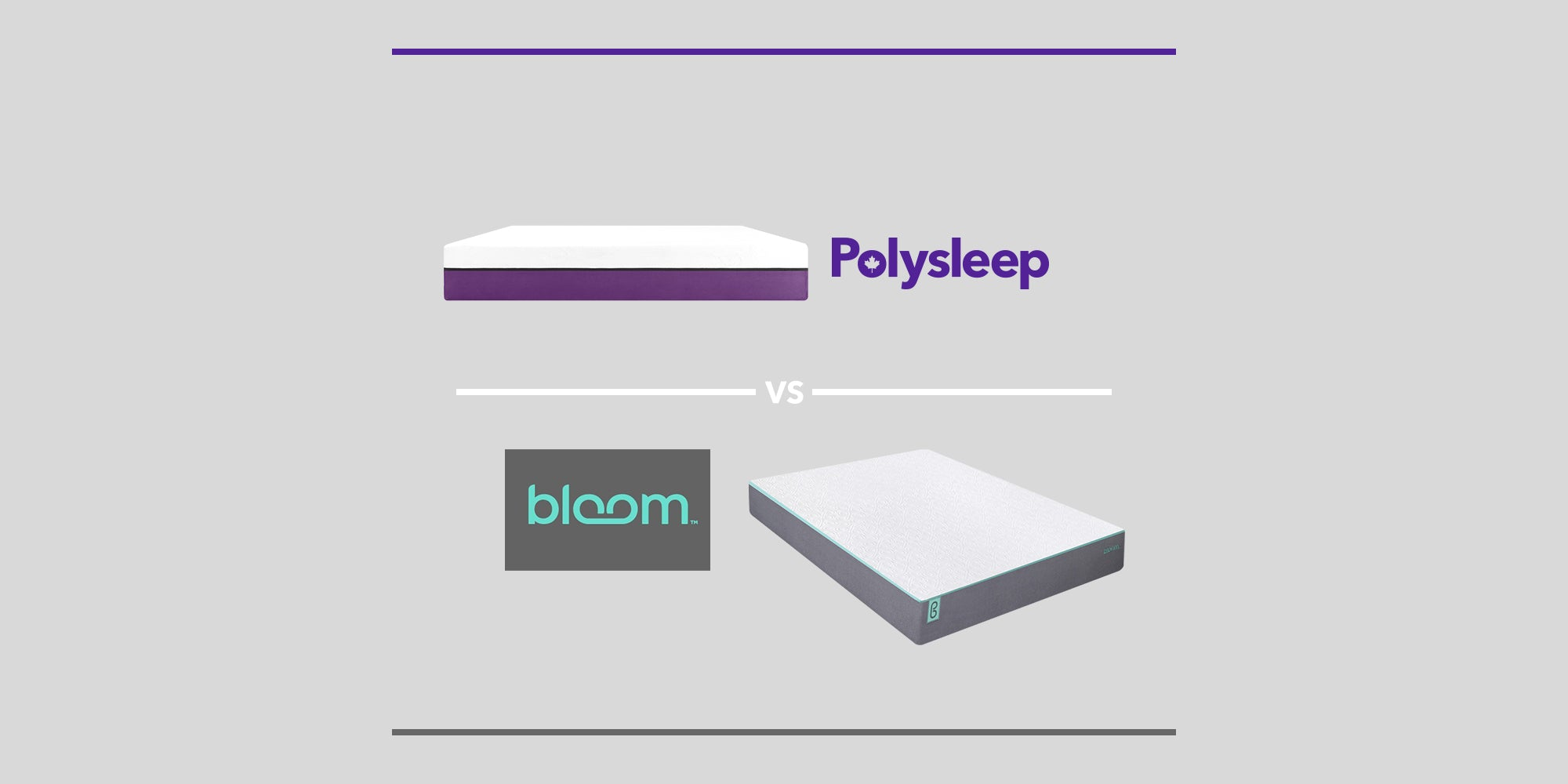 The Polysleep Mattress vs The Bloom Mattress