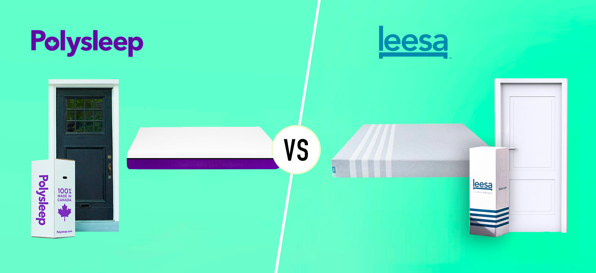Leesa vs Polysleep mattress comparison