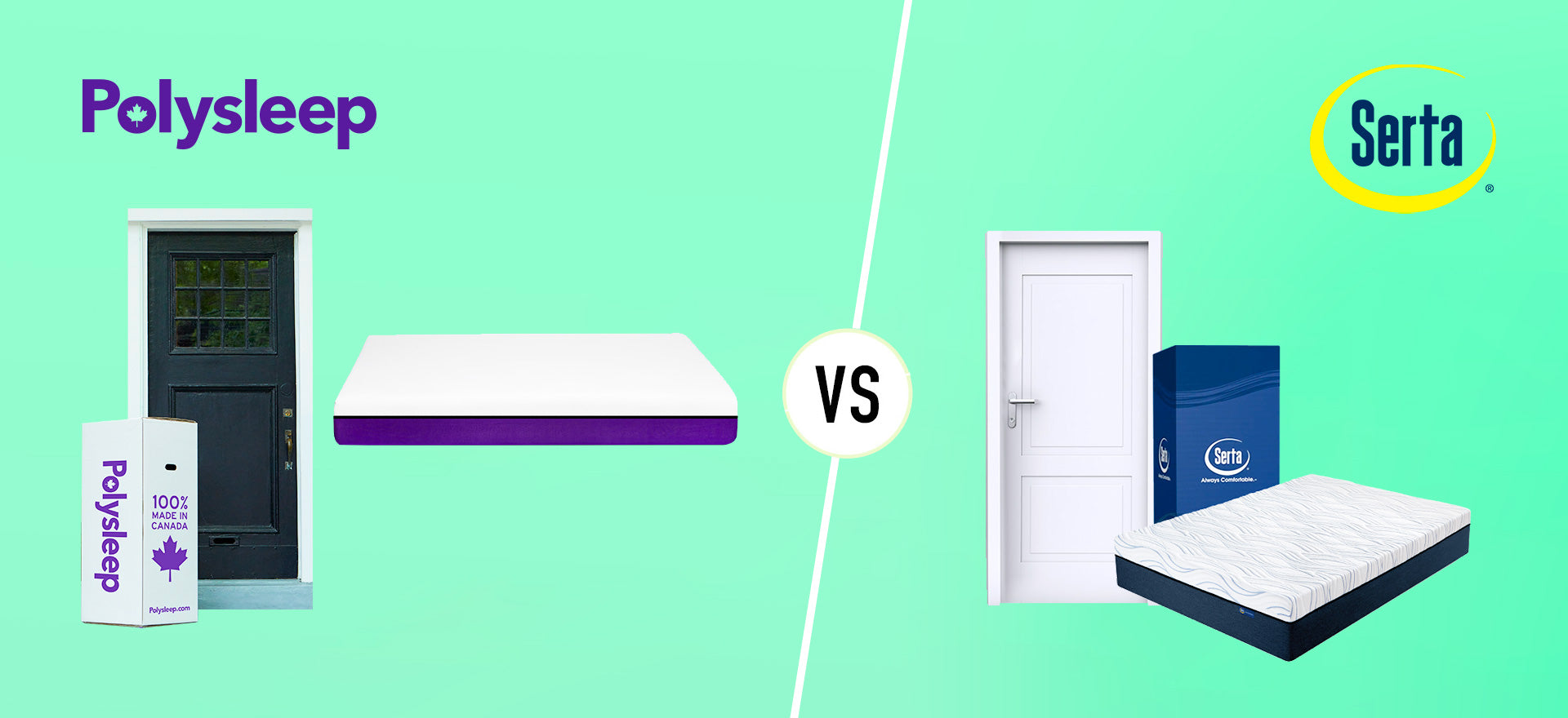Serta Mattress vs Polysleep Mattress