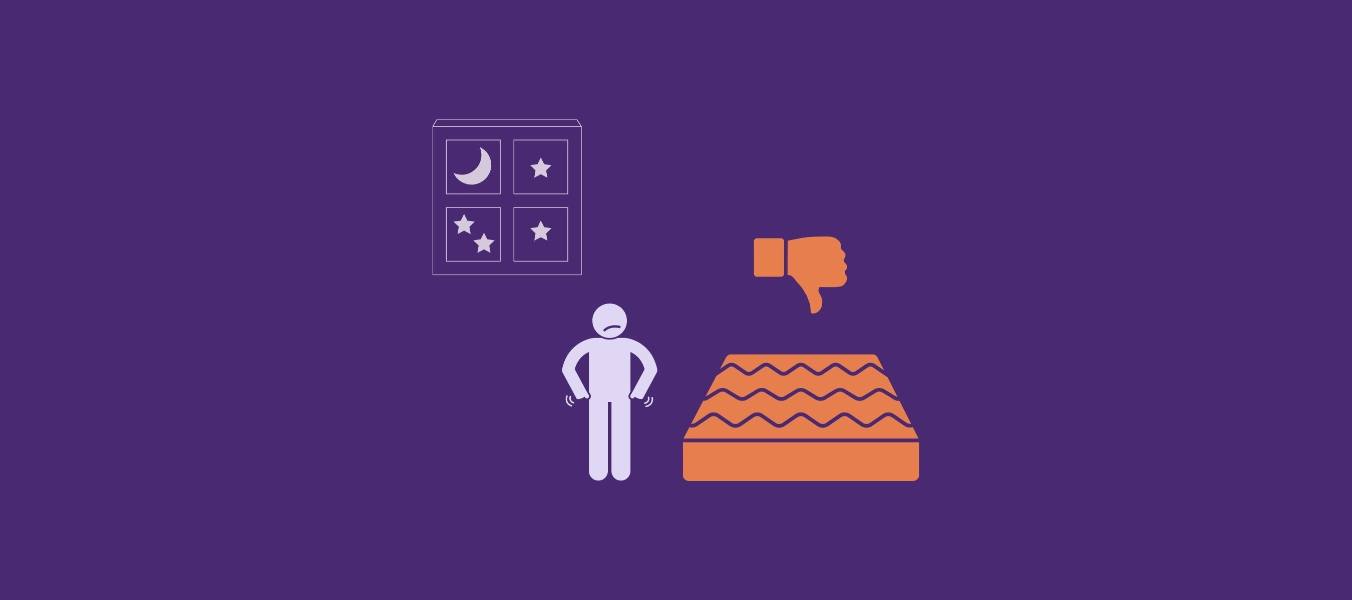 A wrong mattress is often the reason for hip pain at night