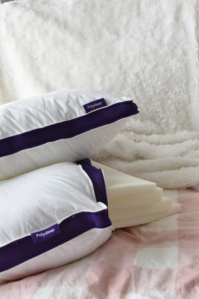 The Polysleep Pillow and its adjustable foam layers
