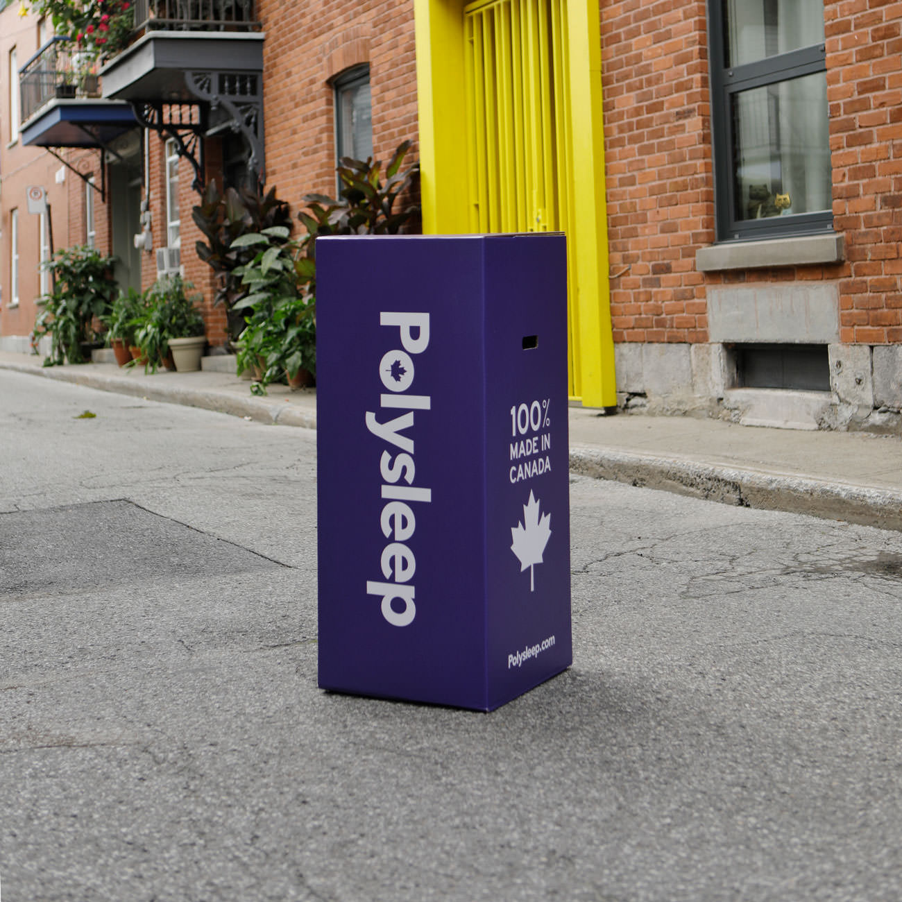 The Polysleep foam mattress delivered to your doorstep in Toronto