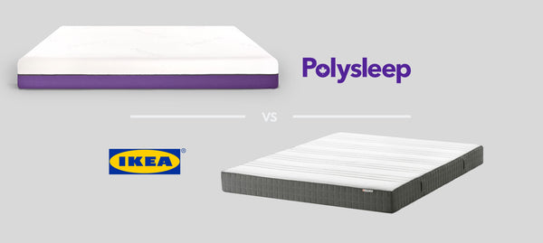 Ikea foam mattress vs Polysleep foam mattress
