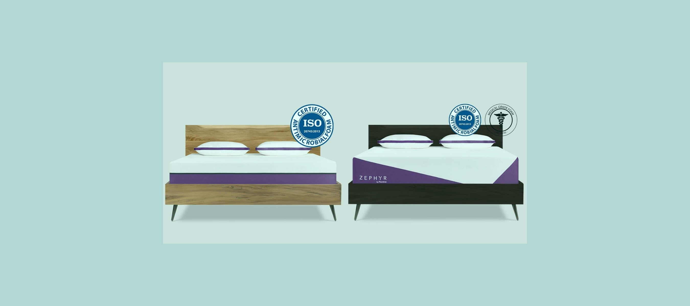 The two Polysleep mattresses ideal for overweight people