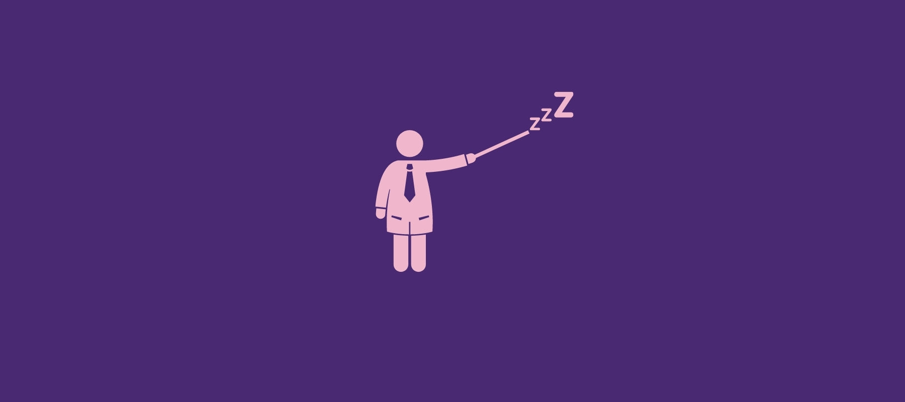 Scientist presenting effective solution for better sleep