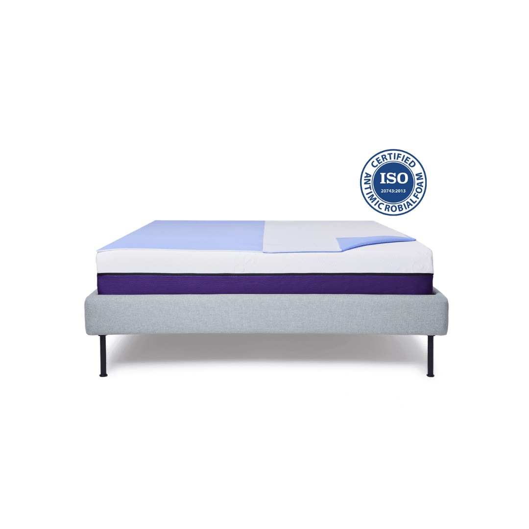 The certified antimicrobialfoam PolyCool topper