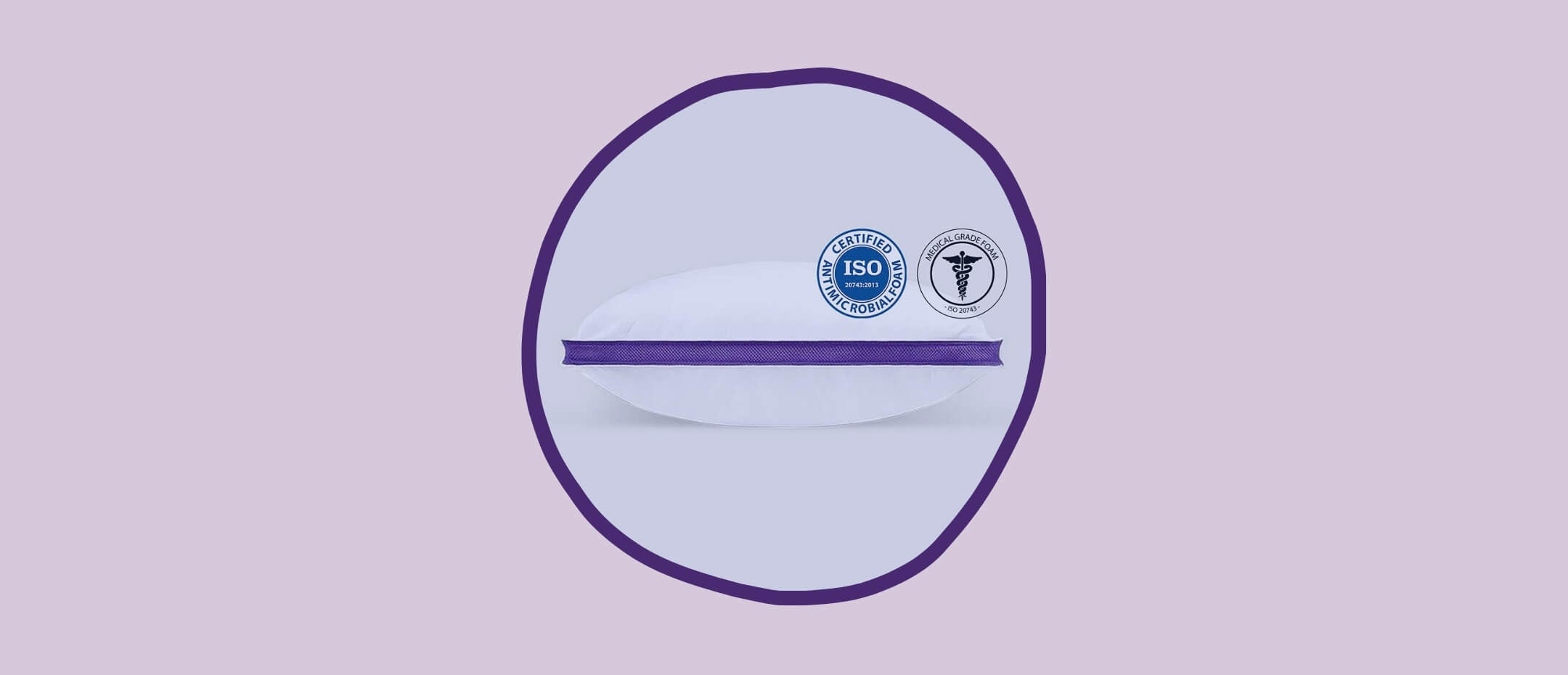 The antimicrobial certified Polysleep pillow