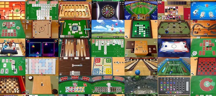 Le jeu Clubhouse Games 51 Worldwide Classics