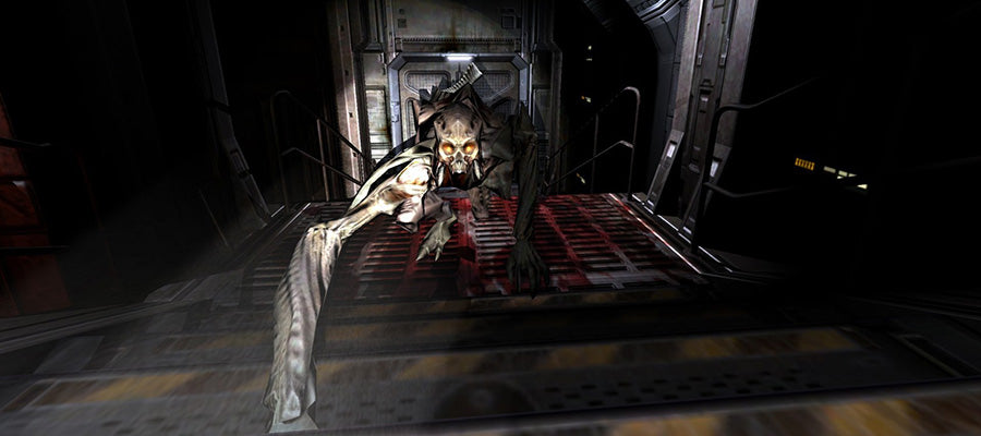 Horror game #10: Doom 3.